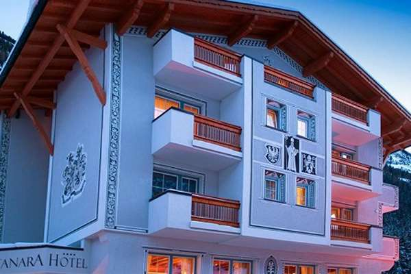 Ski holidays at hotel montanara ischgl austria for Boutique hotel ischgl