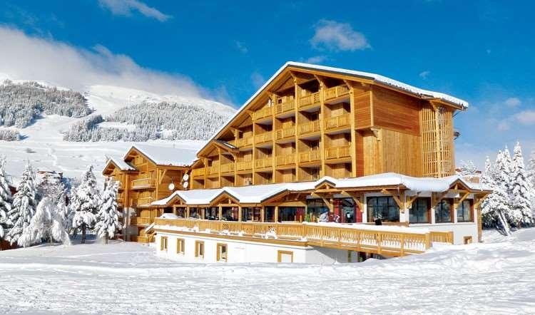 Ski holidays at hotel aalborg les deux alpes france for Hotels 2 alpes