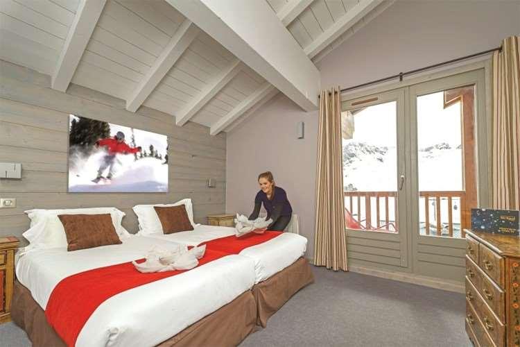 Accommodation in Tignes Le Lac
