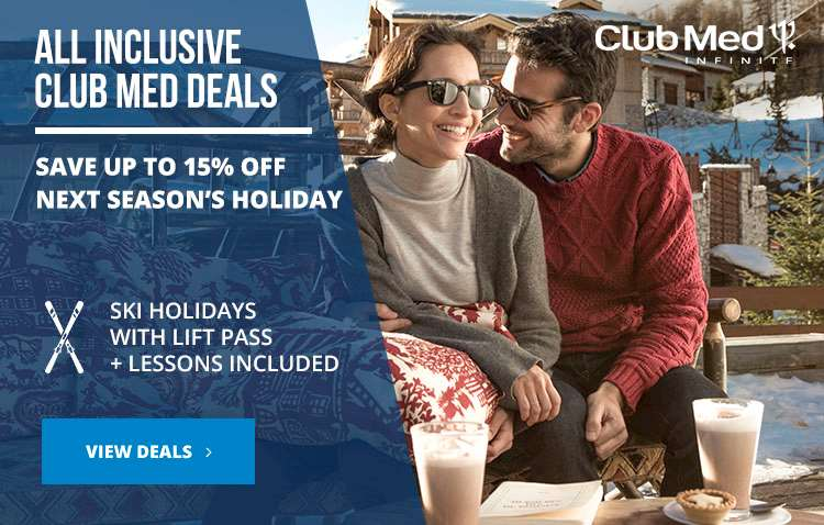 All Inclusive Club Med ski holidays