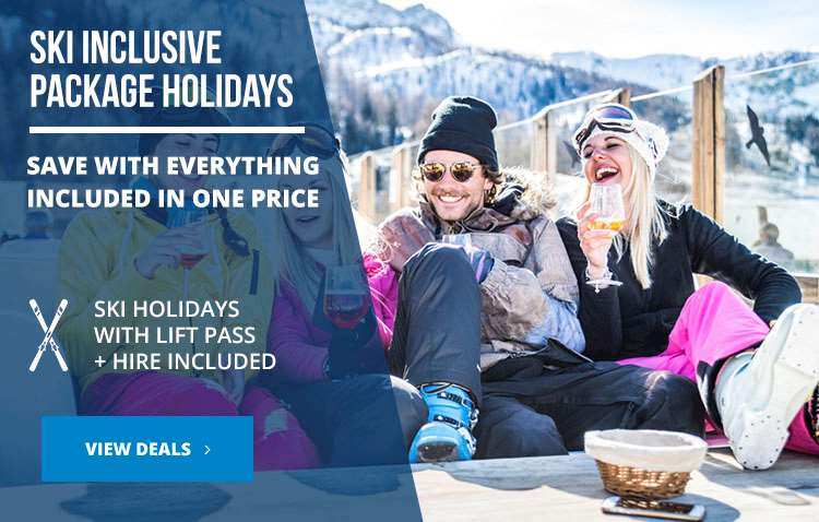 Inclusive ski holiday packages