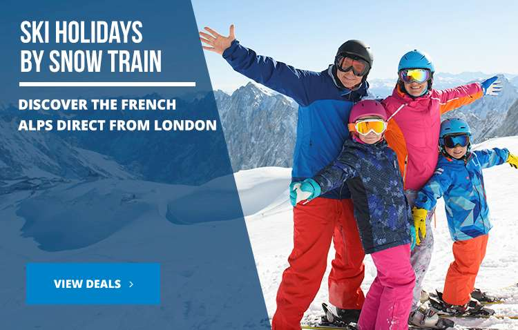 Ski holidays by snow train