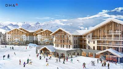 New hotels in Alpe d'Huez