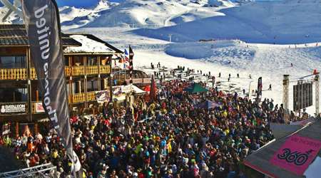 apres ski val thorens 360 bar