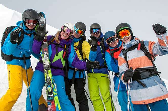 Best ski resorts from groups