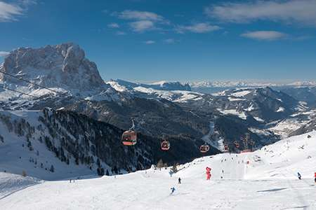 Ski holidays in Selva, Italy