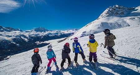 boys ski school