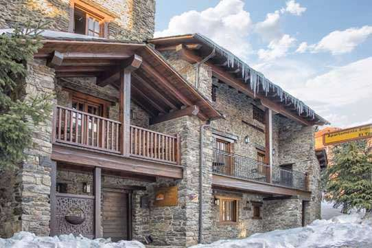 Cheap ski chalets for groups