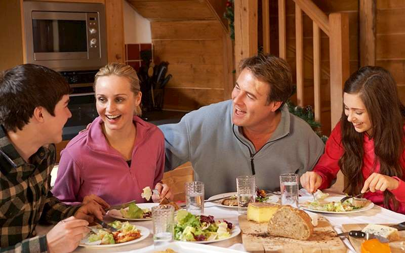 Dietary requests on ski chalet holidays
