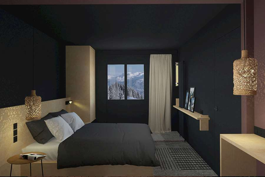 Folie Douce Chamonix Bedroom
