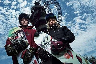 Jenny Jones at Freeze Big Air