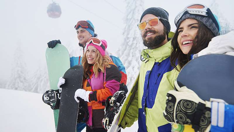 Top tips group ski holiday