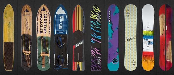 Hostory of Burton Snowboards