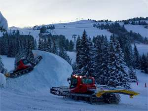 Courchevel opens early for skiing