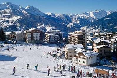 Passo tonale ski resort italy