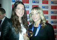 Jenny Jones receives prestigious snowsports prize