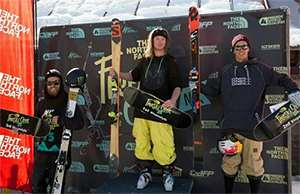 Team GB's Woodsy wins the NZ Freeski Open