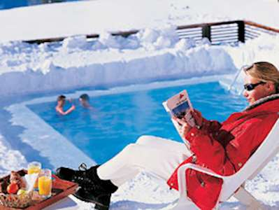 Skiing in Résidence Pierre & Vacances Les Bergers - Studio for 6/8 persons with mezzanine