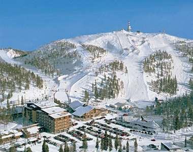 Ruka ski area & Rukahovi Hotel