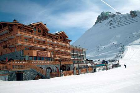 Hotel le Levanna, Tignes - on th