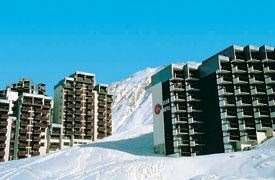 Skiing in Grand Motte Apartments