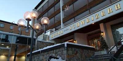 Skiing in Hotel Morosani Schweizerhof