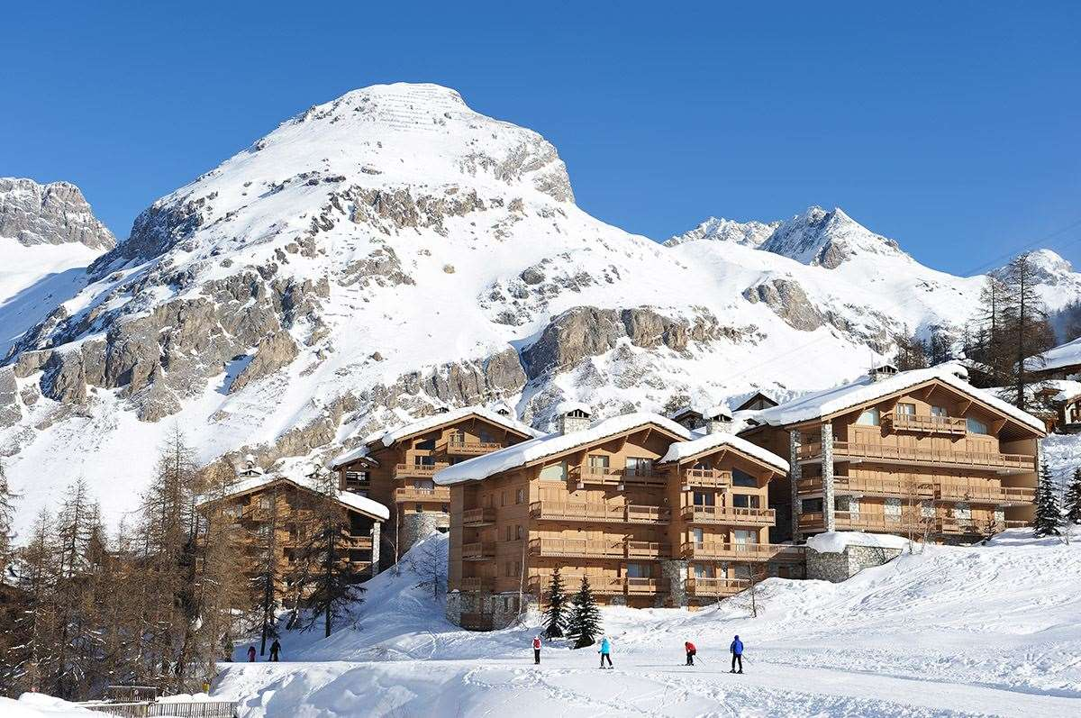Val d'Isere ski resort