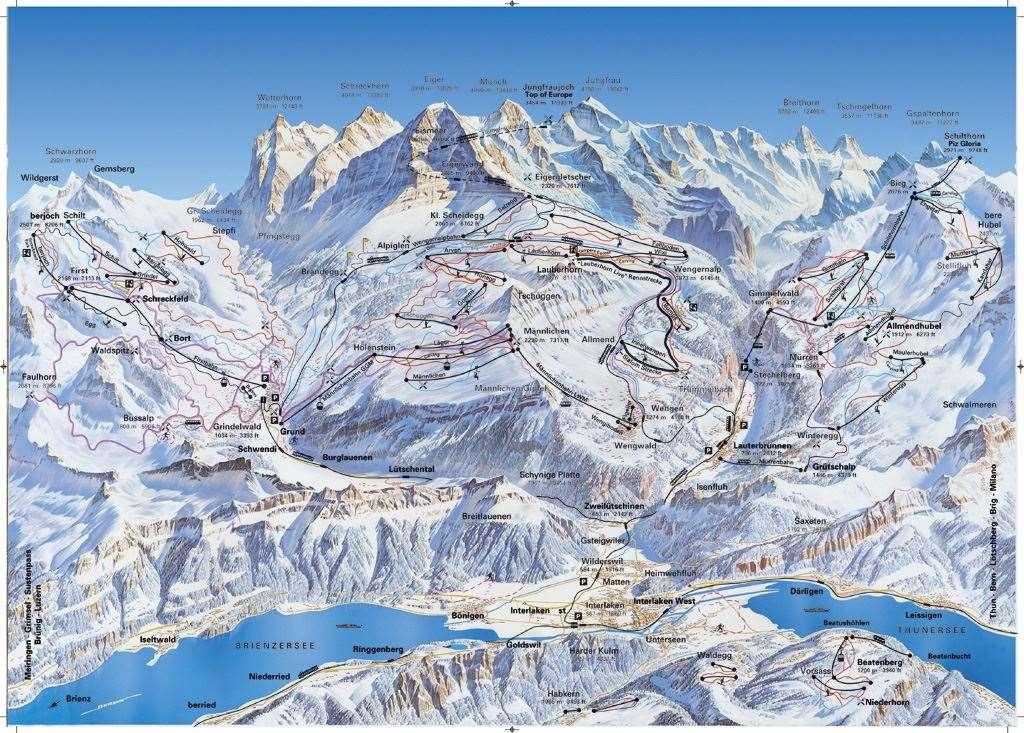 Lauterbrunnen Piste Map | Iglu Ski on map zermatt, map cities in switzerland, map ski resorts in france, map hotels in switzerland,