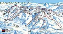 Ellmau piste map