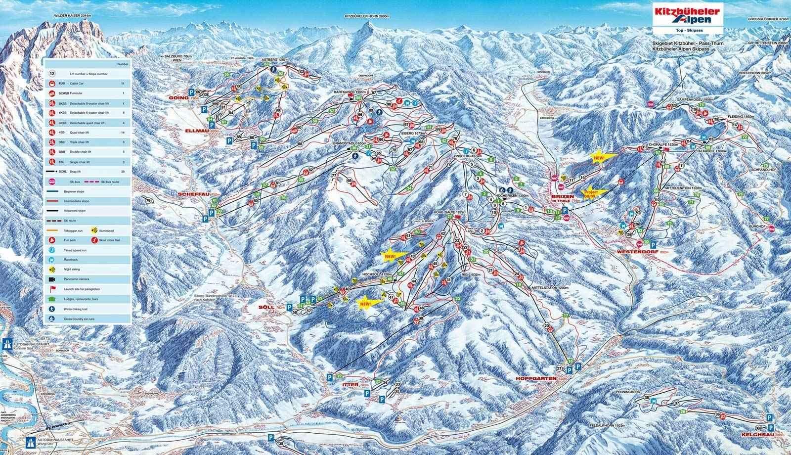 SkiWelt Ski Area Austria skiing Igluskicom