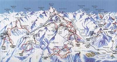 Siviez Piste Map Iglu Ski