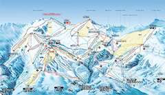 Flims piste map