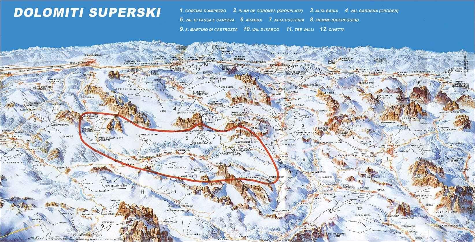 La Villa Skiing holidays Ski holiday La Villa Italy Iglu Ski