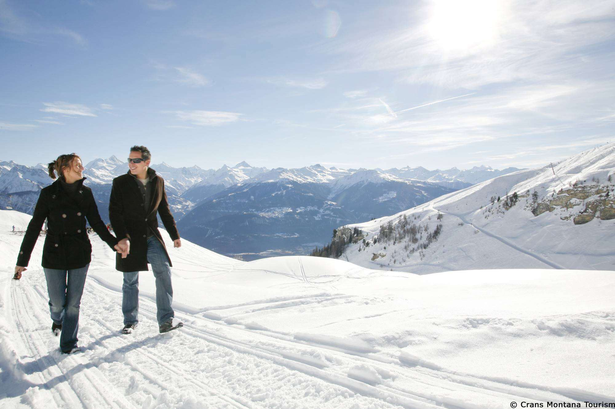 Crans Montana Skiing holidays Ski holiday Crans Montana