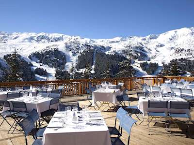Club Med Meribel l'Antares views