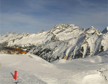 Courchevel Croisette webcam