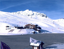 Courchevel 1850 webcam