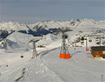 Plagne Bellecote webcam
