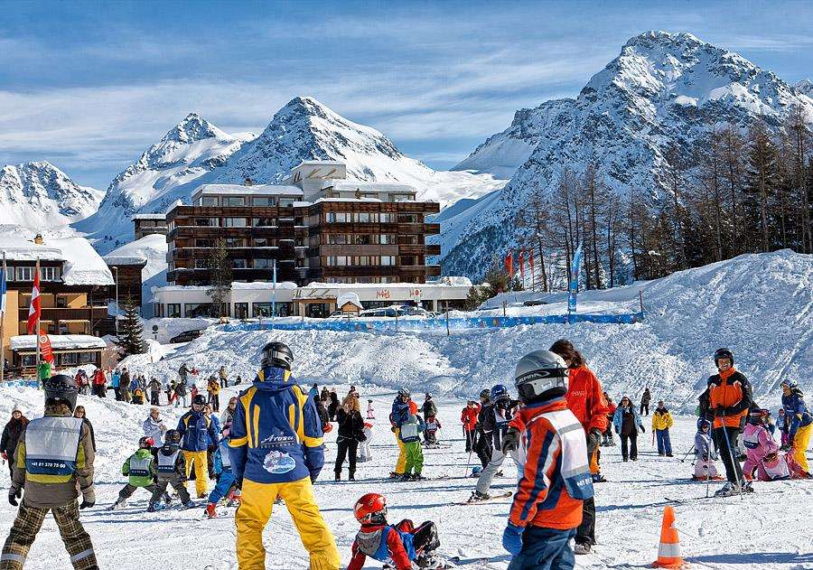 Arosa Kulm Hotel Alpin Spa Arosa Switzerland Iglu Ski