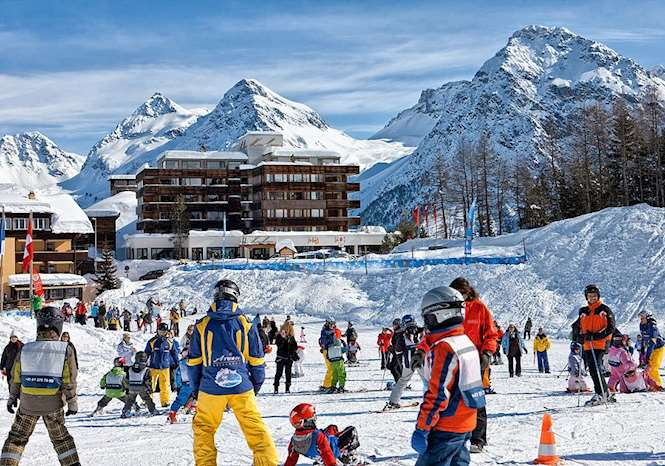 Arosa Kulm Hotel Alpin Spa Picture