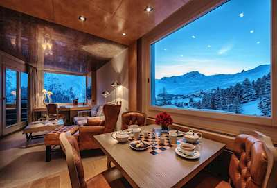 Tschuggen Grand Hotel Picture