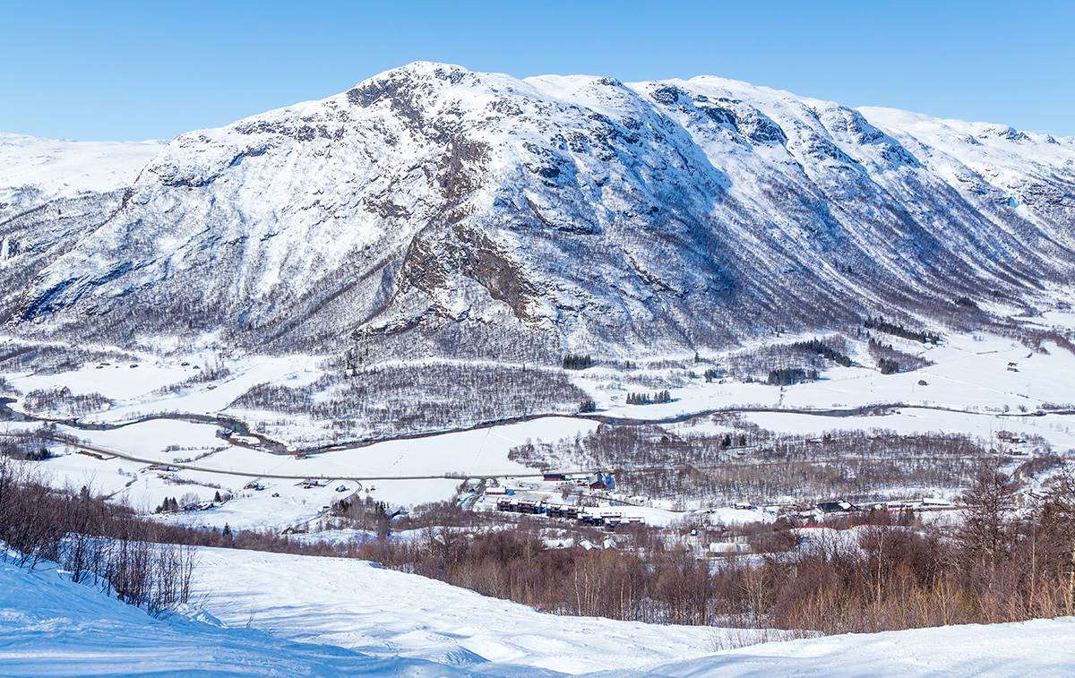 skiing-in-norway-Hemsedal-resort