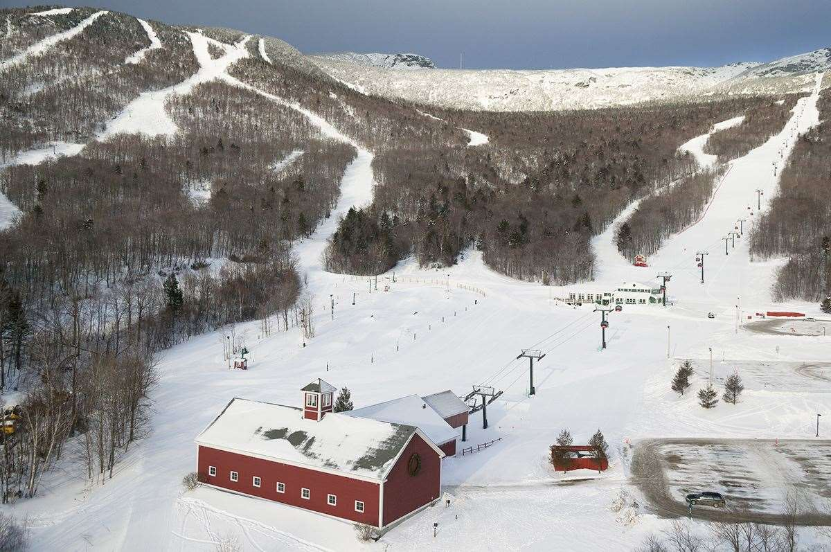 skiing in stowe vermont