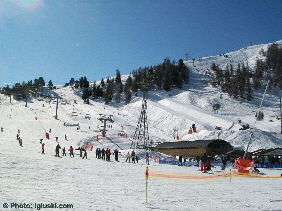 Ski holidays in La Plagne