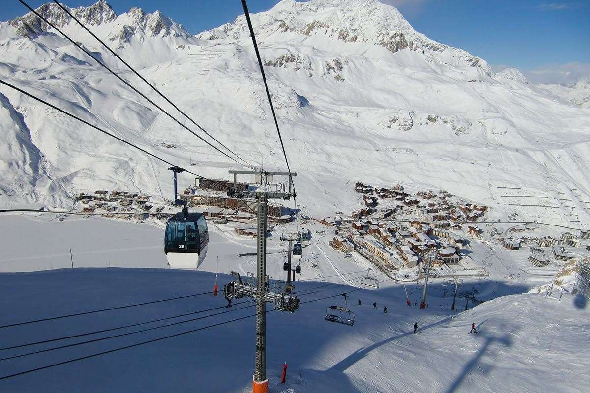Ski holidays in Tignes Le Lac