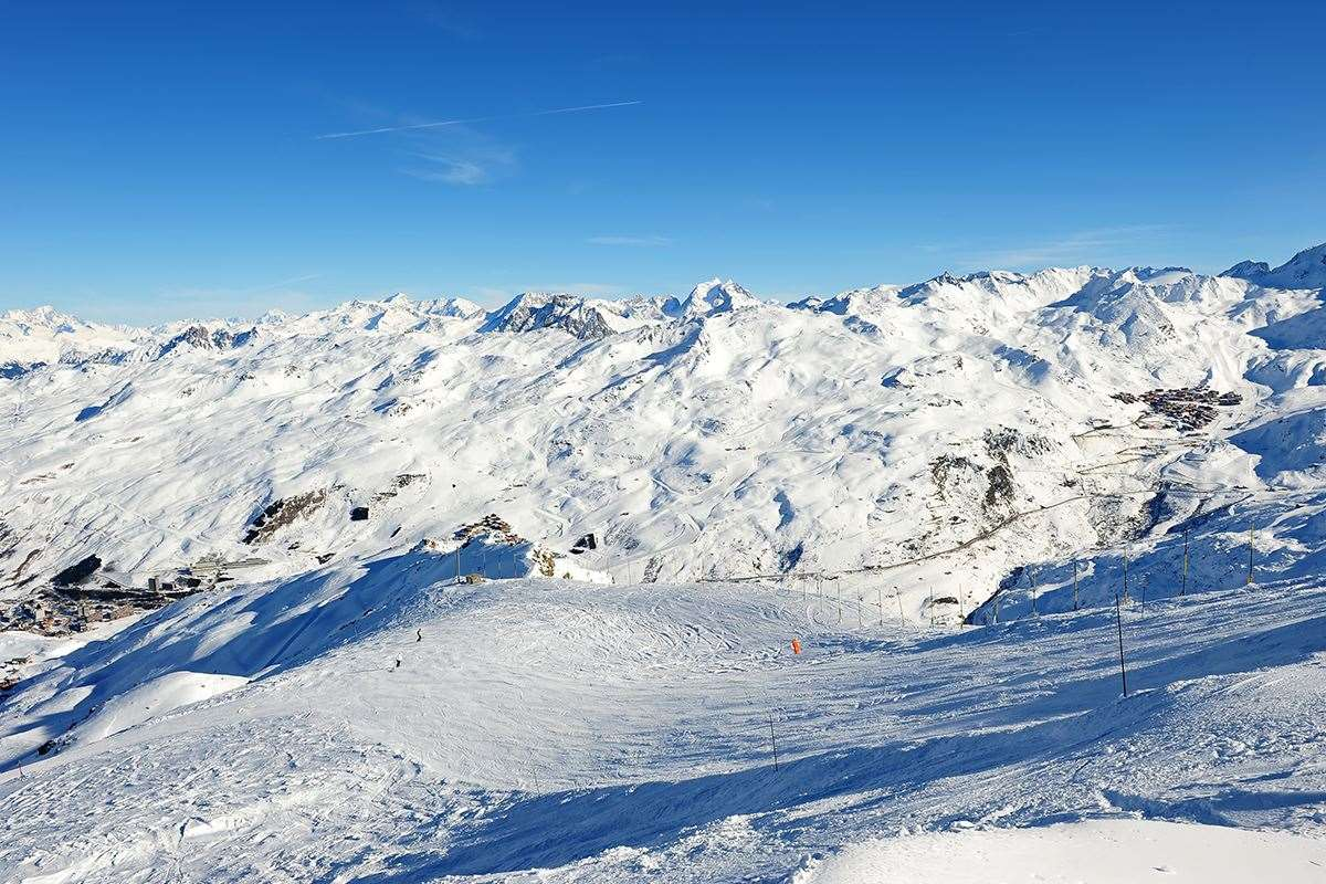 Meribel ski area