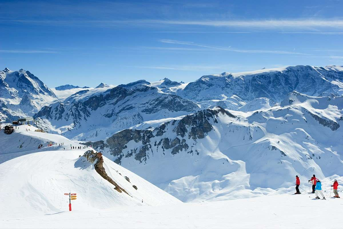 Ski holidays in Meribel