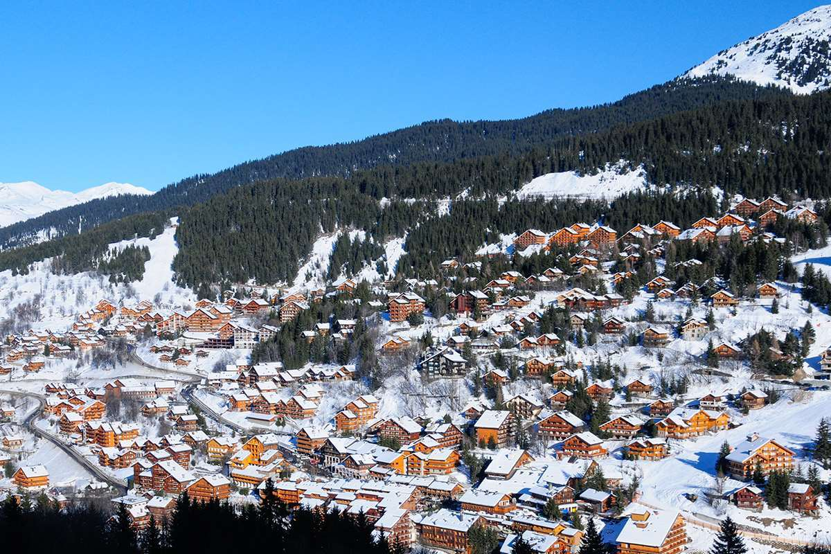 Meribel ski chalets and hotels