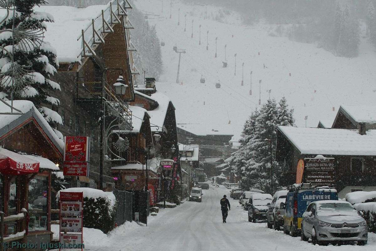 Ski holidays in Morzine