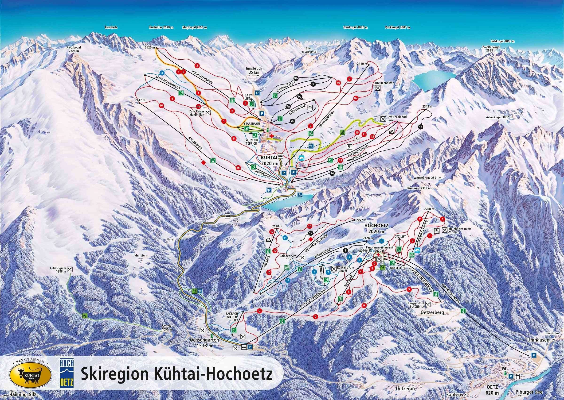 Kuhtai Skiing holidays Ski holiday Kuhtai Austria Iglu Ski